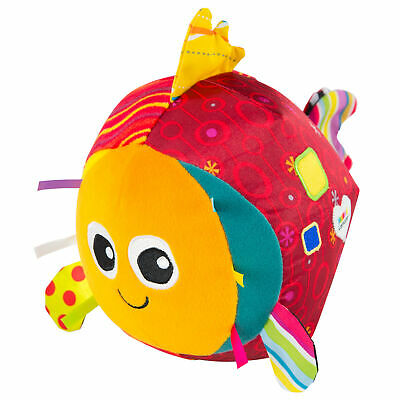 LC27426 Lamaze Rolling Rosa Kids Baby Babies Toddlers Fish Toy 6+ Months - New