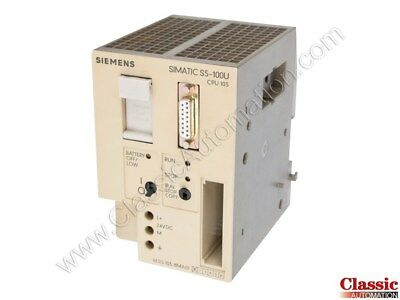 Siemens | 6ES5103-8MA01 | CPU103 Processor Module (Refurbished)