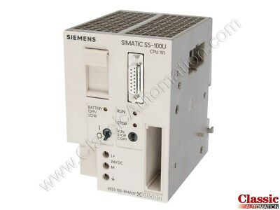 Siemens | 6ES5103-8MA02 | CPU103 Processor Module (Refurbished)