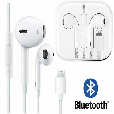 Wired Bluetooth Lighting Earbuds Headphones Headset For iPhone 7 8 Plus X Xs Max