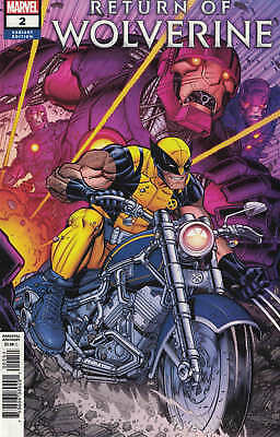 Return of Wolverine #2 1:50 Nick Bradshaw Variant Marvel 2018