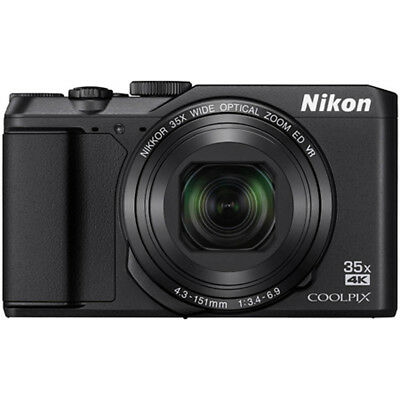 Nikon COOLPIX A900 20MP HD Digital Camera w/ 35x Opt. Zoom & Wi-Fi - Black