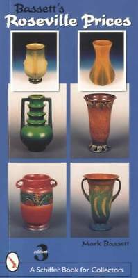 Vintage Roseville Pottery Field Price Guide w Shapes #s Measurements Pattern Etc