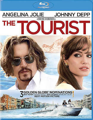 The Tourist (Blu-ray Disc, 2011) Brand New Factory Sealed