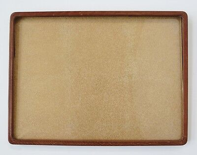 Vintage / antique fine Asian Japanese woodblock old style wood frame only