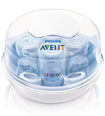 Philips Avent Microwave Steam Sterilizer Baby Bottles