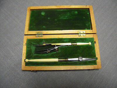 19c ANTIQUE  Drafting Tool - RULING PEN -Set
