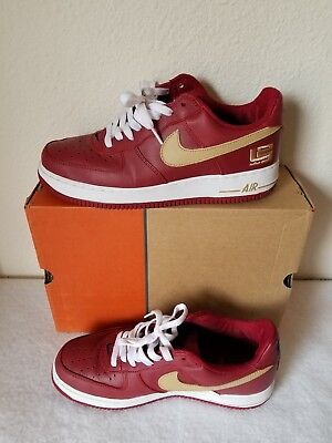 3475718c54c 2004 Nike Air Force 1 Low Lebron James - Size 10 306353-671 Pre Owned