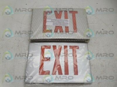 Cooper Cx61R Exit Sign * New In Box *
