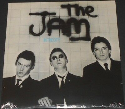 THE JAM in the city USA LP new sealed REISSUE 2006 paul weller STYLE COUNCIL