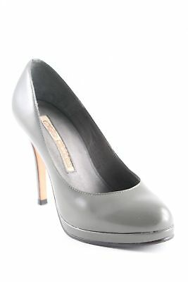 dd48af4b5448 BUFFALO LONDON Plateau-Pumps grüngrau Business-Look Damen Gr. DE 36  Damenschuhe