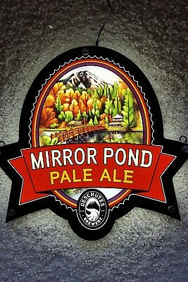 Deschutes Brewery MIRROR POND PALE ALE LED Sign New in Box