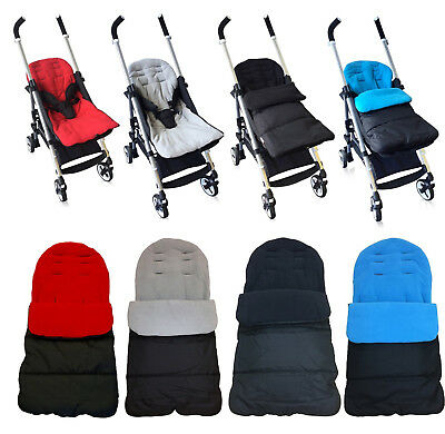 Universal Fleece Lined Luxury Pushchair/Stroller Footmuffs Cosy Toes For baby