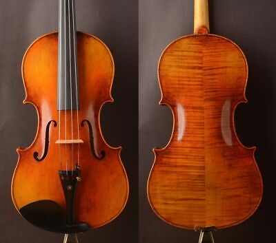 "Strad model !A T20 Viola 16"" with German Oil varnish! Best model! Deep warm tone"