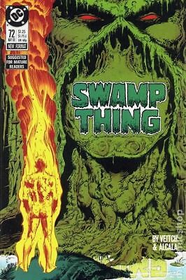 Swamp Thing (2nd Series) #72 1988 FN Stock Image