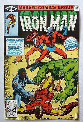Invincible Iron Man 133,134,135,136,137 Bronze Age Lot FN to VFN+/NM- 1980