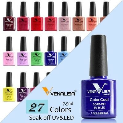 Venalisa Nail Polish Soak Off UV Led Manicure Gel Polish Laquer