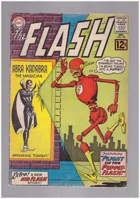 Flash # 133 The Plight of the Puppet-Flash !  grade 4.5 scarce book !