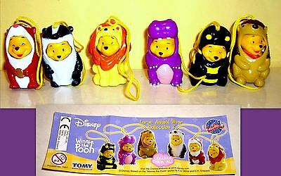 Tomy - Disney- Winnie The Pooh - Large Animal Wear Collection
