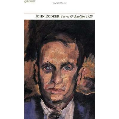 Collected Poems and Adolphe 1920 (Poetry pleiade) - Paperback NEW Rodker, John 1