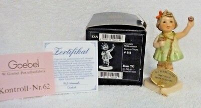 Goebel Germany Hummel Figurine Forever Yours First Issue #793 TMK7 with Box