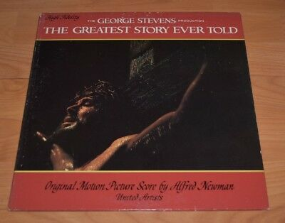 The Greatest Story Ever Told Original Motion Picture Soundtrack LP