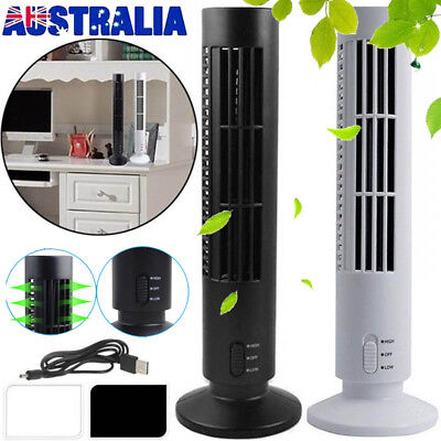 2019 Mini Portable USB Cooling Air Conditioner Purifier Tower Bladeless Desk Fan
