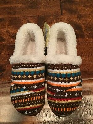 TOMS Youth Earth Woolen Fair Isle Slippers, Variety of Youth Sizes, NIB!