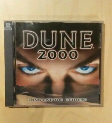 Dune 2000 Long Live The Fighters! Game.        2 Disc Set