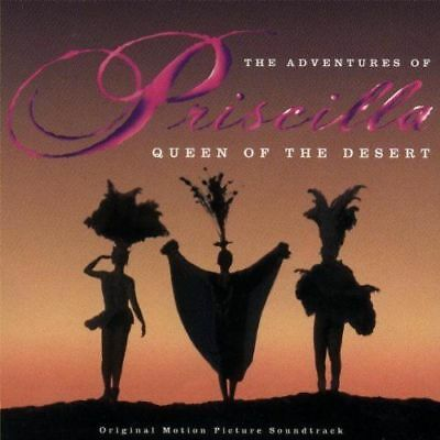THE ADVENTURES OF PRISCILLA QUEEN OF THE DESERT Soundtrack CD BRAND NEW