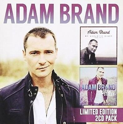 ADAM BRAND My Acoustic Diary/My Side Of The Street 2CD BRAND NEW