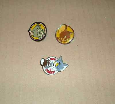3 Pin's Pin Pins Tom Et Jerry