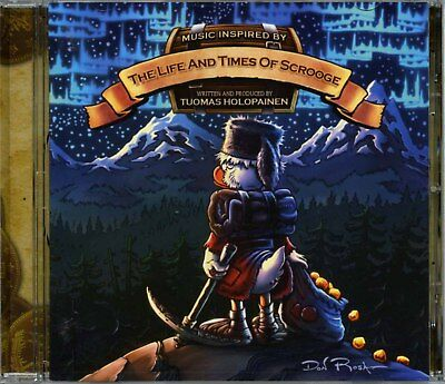 Tuomas Holopainen 2014 The Life And Times Of Scrooge US CD NB 3196-2
