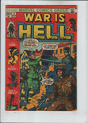 War is Hell #2 fine+ to F/VF