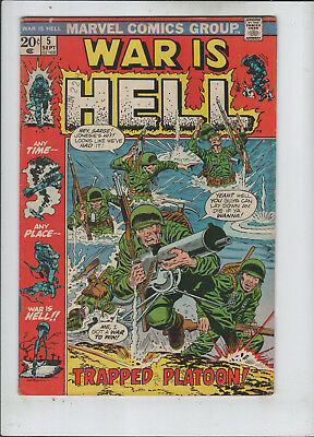 War is Hell #5 fine+ to F/VF