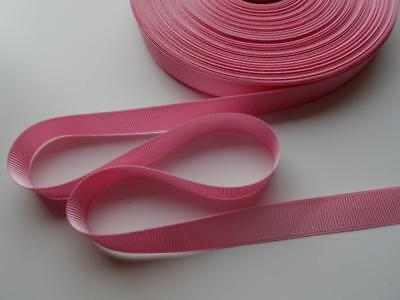 """BRIGHT PINK GROSGRAIN RIBBON polyester no fray 1/2"""" 1.5cm hair bow trim tape RB"""