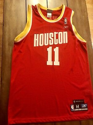 ... new zealand yao ming houston rockets 11 retro nba jersey reebok size  medium. 495b2 bdfeb f83f71292
