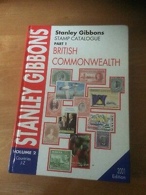 Stanley Gibbons British  commonwealth stamp catalogue Vol 2
