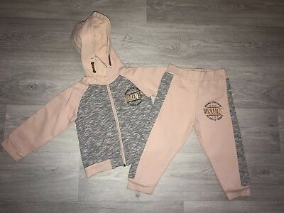 2b442c76416a Baby Girls Tracksuit Hoodie And Trousers Age 18-24 Months McKenzie