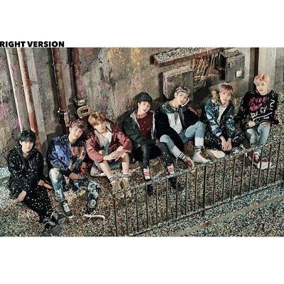 Bts Official Poster You Never Walk Alone Right Ver Tube New Kpop Bangtanboys
