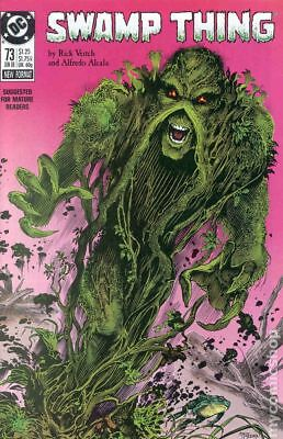 Swamp Thing (2nd Series) #73 1988 FN Stock Image