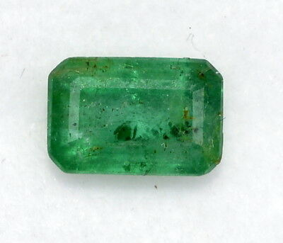Certified Natural Emerald Octagon Cut 7x4.50 mm 1.02Cts Untreated Loose Gemstone