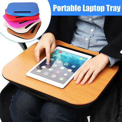 Notebook Laptop Cushion Tray Table Lap Desk Portable Reading Writing For ipad