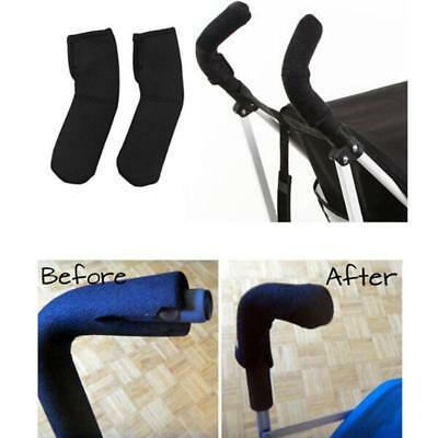 Baby Pushchair Stroller Carriage Handle Bar Grip Cover Protective C