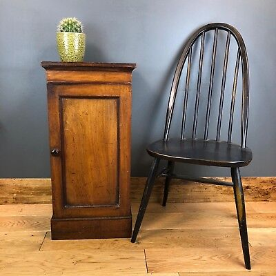 Antique Pot Cupboard Storage Table Sofa End Occasional Hallway Mahogany