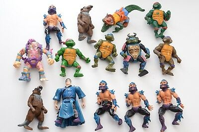 Vintage Teenage Mutant Ninja Turtles Action figures playmates 1980s 90s Hero