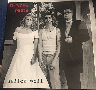 "DEPECHE MODE - Suffer Bien - 12"" VINYL LP 1° RELEASE - SEALED MINT"