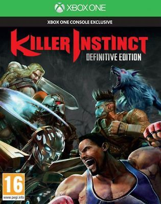 Killer Instinct Definitive Edition Xbox One Brand New Sealed Video Game