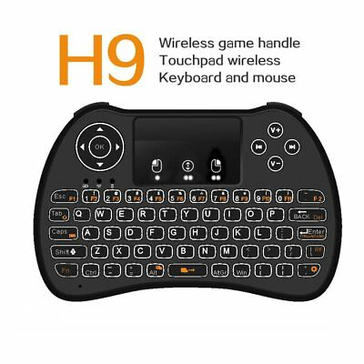 New H9 Mini Keyboard 2.4Ghz Wireless Keyboard With Touchpad For Tablet PC RP