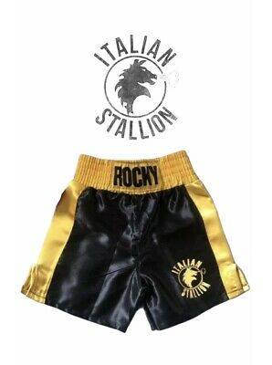Baby Boxing Shorts Rocky Balboa for 6, 12, 18 & 24 Month old Babies